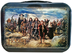 The Hobbit Cast Lunchbox - Going on a long journey, say to a dragon's den, or even to a volcano if the mood takes you? Why not pack a nice lunch, and maybe some carefully caged butterflies in case you need a lift from some passing eagles. Hey, here's just the thing: The Hobbit Cast Lunchbox. Go nuts, or at least you can put some in your Hobbit lunchbox.