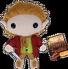 The Hobbit Bilbo Plushie