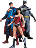 Trinity War Action Figure 3 Pack