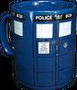 Doctor Who Tardis Mega Mug