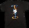 Portal 2 Gel Splatter Male T-Shirt