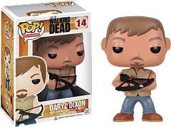 Daryl Dixon Pop! Vinyl Figure - Straight from the hit AMC television phenomenon, the Daryl Dixon Vinyl Figure is 3.75