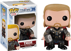 Thor The Dark World Pop! Vinyl Figure - Oh, he may be only 3.75