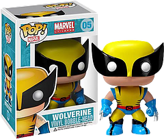Wolverine Pop! Vinyl Bobble Figure - The X-Men's wildest member has his claws out and is ready for a scrap. Nothing new there. The difference here is, instead of standing at 5' 1