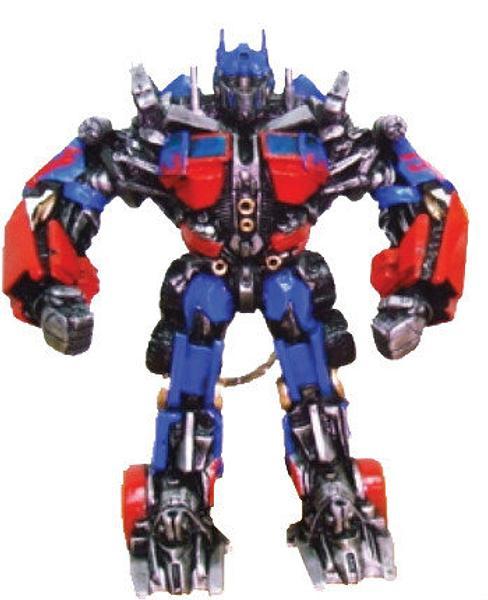 Transformers 2 Optimus Prime Keyring