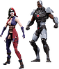 Cyborg Vs Harley Quinn Injustice 2 Pack