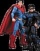Superman Vs Nightwing Figures 2 Pack