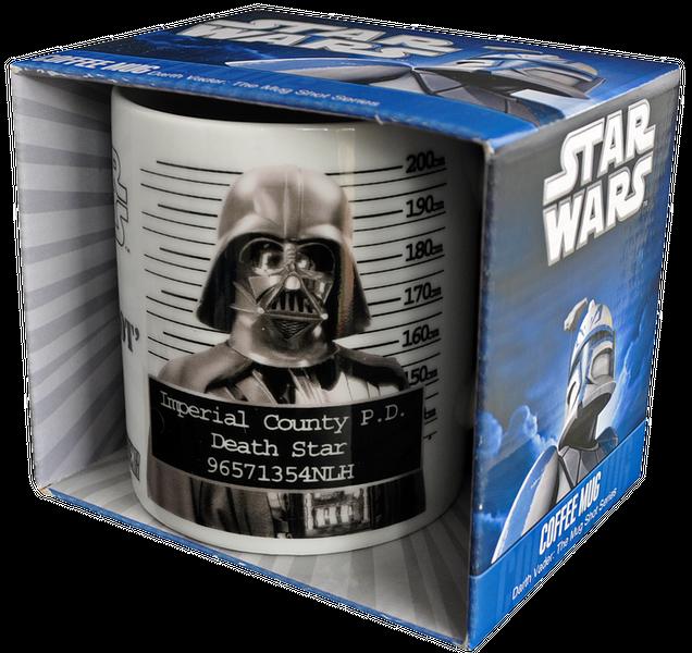 Darth Vader Mug Shot Mug