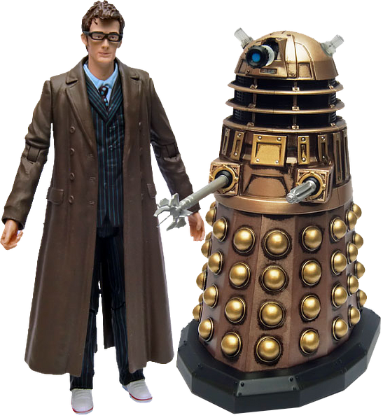 Doctor Who 10th Doctor and Dalek Pack