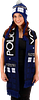 Doctor Who Tardis Scarf