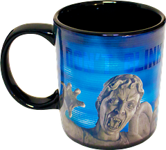 Weeping Angel Heat Changing Mug - Okay, beverages and terror don't normally go together well, but this is a very cool exception. Watch as the Weeping angel reveals her true face as the hot liquid takes effect. A fun gift for sure.