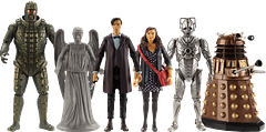 Cyberman Figure Doctor Who Series 7 - From the great Series 7 Doctor Who figure Collection. Grab them all, while stocks last. This price is for the one item listed, out of the set shown.