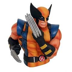 Wolverine Bust Bank - Watch out bub!  The Wolverine Masked Bust Bank has his claws out, ready to prevent any unauthorised access to the funds within.Stands approximately 19cm tall.Independent product review by gothenqcowboys YouTube channel