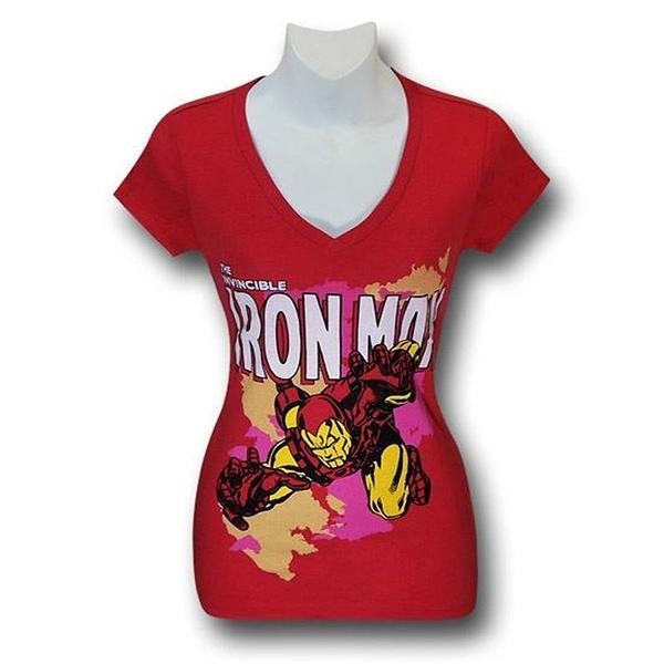 Iron Man Flight Grab Women\'s T-Shirt