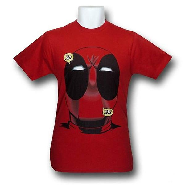 Deadpool Big Head T-Shirt