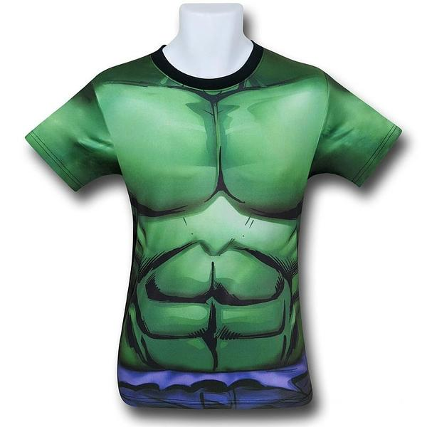 Hulk Costume Fitness T-Shirt Sublimated