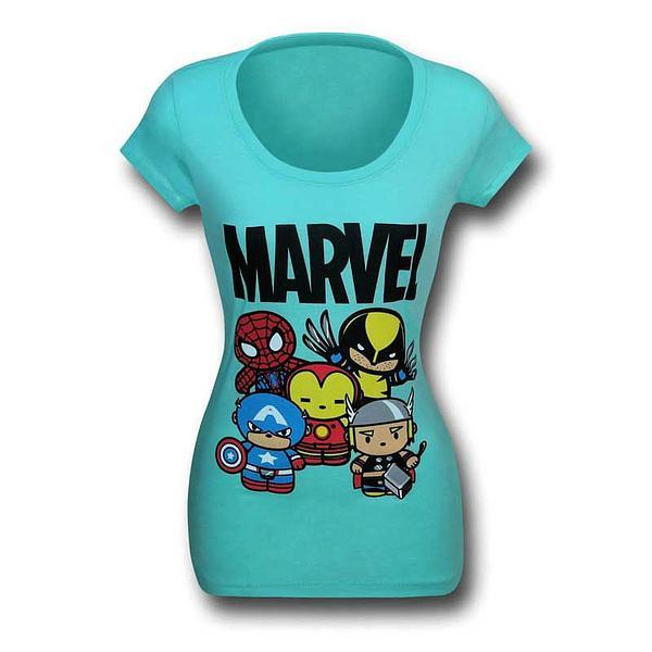 Marvel Cute Heroes T-Shirt