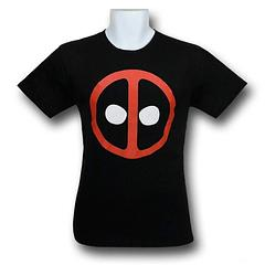 Deadpool Symbol Icon T-Shirt - The Deadpool Symbol Icon T-Shirt is made from 100% cotton.Colour: Black