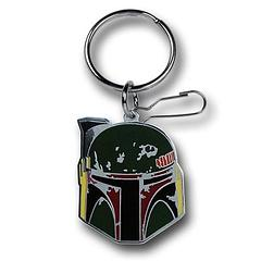 Boba Fett Enamel Keyring - The Star Wars Boba Fett Enamel Keyring measures approximately 5cm (2 inches) long.