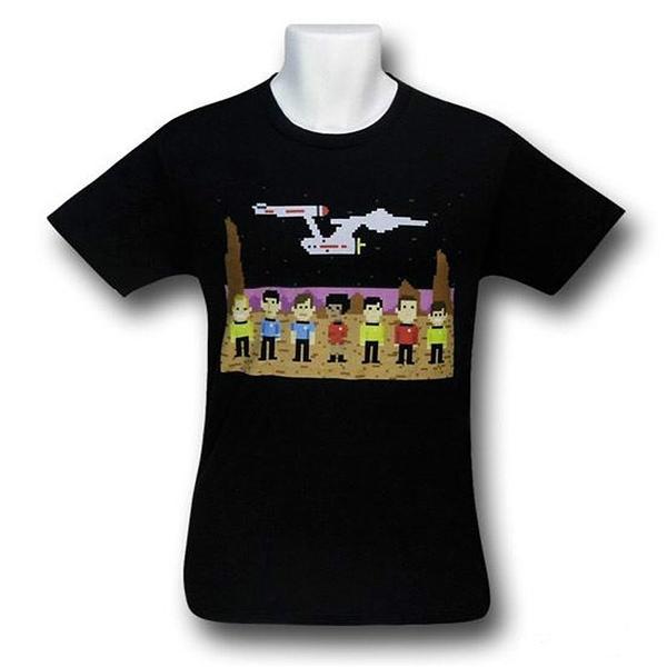 Star Trek Pixel Crew T-Shirt
