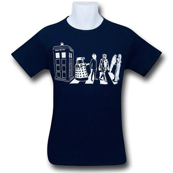 Doctor Who Gallifrey Road T-Shirt