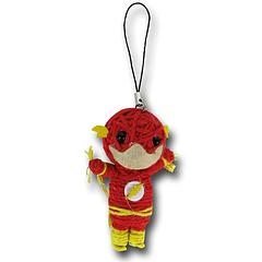 Flash String Doll Keychain - The Flash String Doll Keychain measures approximately 7.5cm (3 inches) tall.This little guy can be attached to a keyring, but does not come with the ring itself.