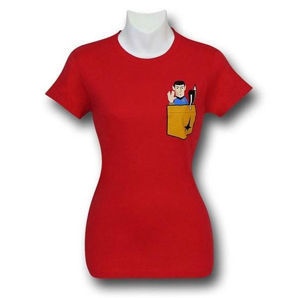 Star Trek Spock Pocket T-Shirt