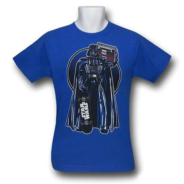 Darth Vader Boom Box Skater T-Shirt