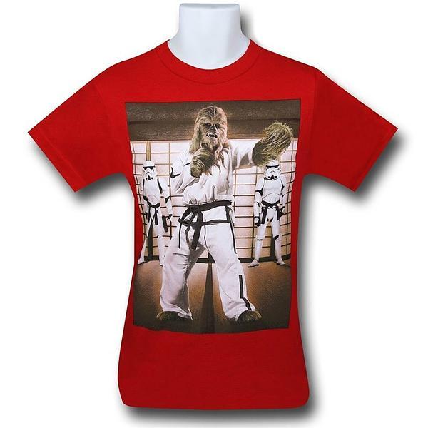 Star Wars Wookiee Karate Kids T-Shirt