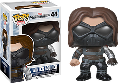 Winter Soldier Pop! Vinyl Figure - Bucky's back and badder than ever with this 3.75