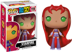 Starfire Pop! Vinyl Figure - Teen Titans Go - The Teen Titans Go – Starfire Pop! Vinyl Figure may look sweet and naive, but at 3.75