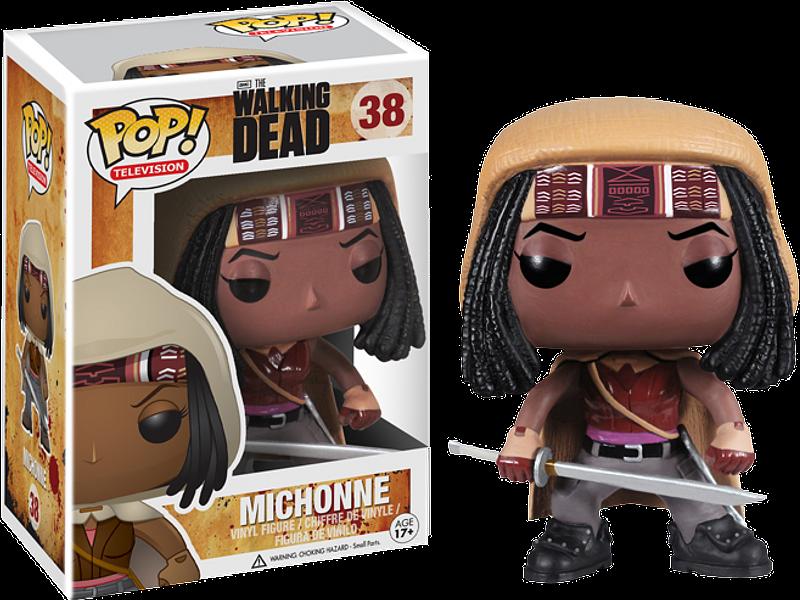 Michonne Pop! Vinyl Figure 3.75″