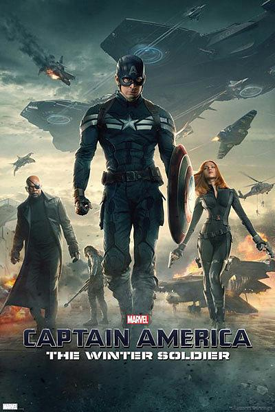 Captain America Poster: The Winter Soldier