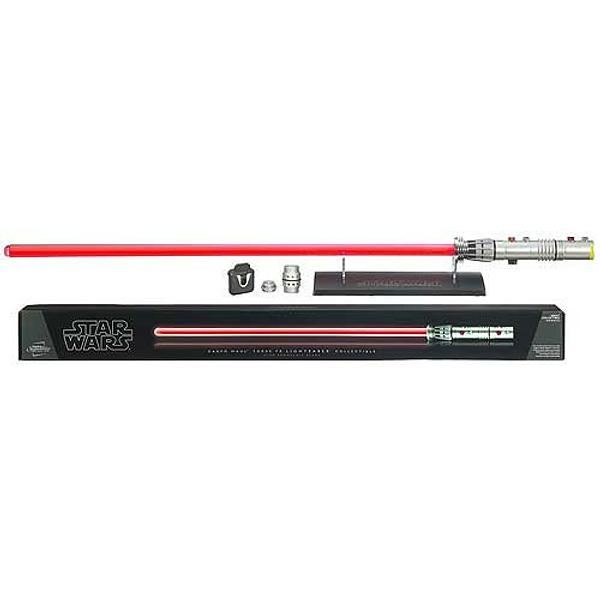 Darth Maul Lightsaber Force FX Removeable Blade