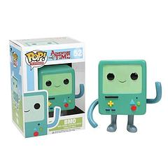 Adventure Time BMO Pop! Vinyl Figure - Is there anything he can't do? With his built in camera, printer, electrical outlet, and so much more, BMO is probably the most verstile little gaming console EVER, not to mention a loyal friend.  Okay, so the 3.75