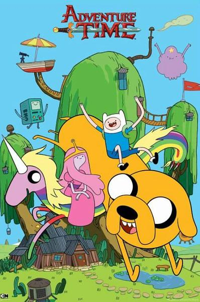 Adventure Time Poster - House