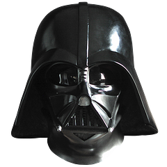 Darth Vader Helmet Limited Edition - This is the eFX, life size replica Darth Vader Helmet from Star Wars Episode 4 that transforms any Jedi into the ulitmate vessel of the power of the Dark Side. This limited edition piece also comes with a certificate of authenticity.With machined metal features and a two-toned, gunmetal paint finish this screen accurate replica, constructed from fibreglass, plastic and aluminium, does full credit to the Rick Baker master mold patterns from which it was cast.This fully lined face mask comes...