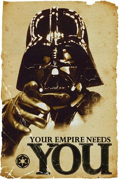 Star Wars Poster: The Empire Needs You