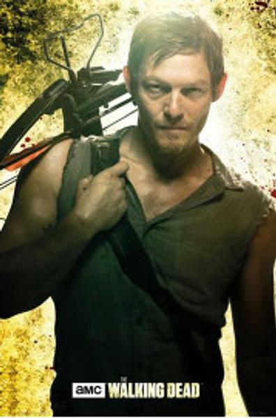 Walking Dead Poster - Daryl Dixon