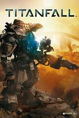 Titanfall Poster - Cover - This awesome Titanfall poster features the cover art of the popular game of the same name. I made a rhyme.