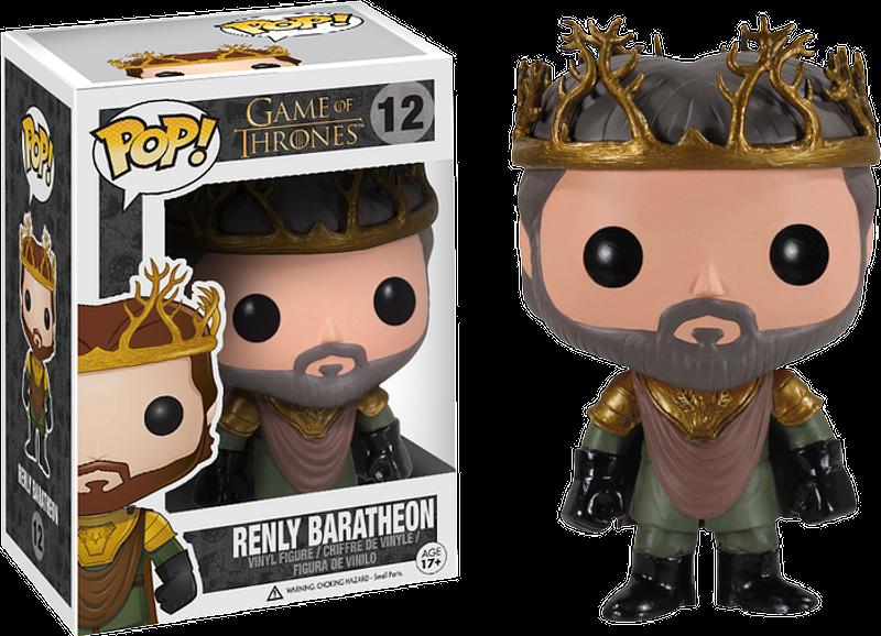 Renly Baratheon Pop! Vinyl Figure