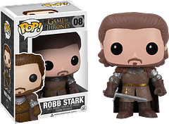 Robb Stark Pop! Vinyl Figure - Game of Thrones - The King in the North, Robb Stark, is now 3.75 inches tall and a worthy addition to any Game of Thrones Pop! Vinyl Collection.