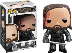 The Hound Pop! Vinyl Figure - Game of Thrones - Sandor Clegane, The Hound, from the hit television series Game of Thrones, is now 3.75 inches tall, and a great little Pop! Vinyl Figure addition to any collection.
