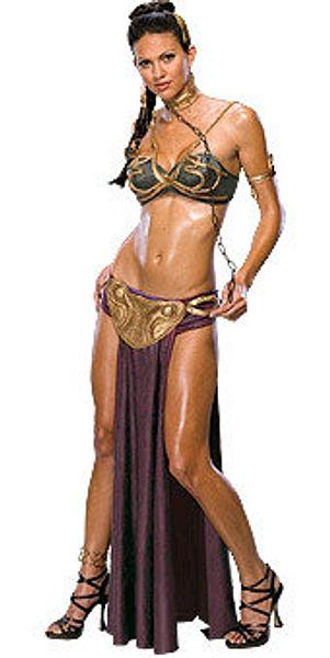 Princess Leia Slave Costume - Secret Wishes