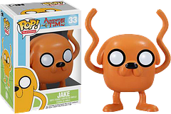 Jake Pop! Vinyl Figure - Adventure Time - Yay! Finn's best friend and fellow adventurer, Jake the Dog, is here as a 3.75 inch Adventure Time Pop! Vinyl Figure, at his stretchy-powered best.