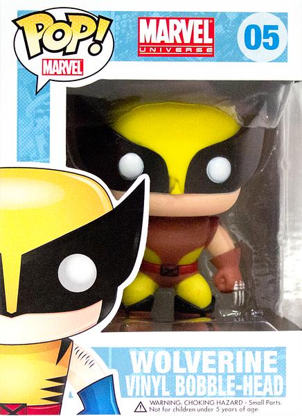 X-Men Wolverine Brown Suit Exclusive Pop! Vinyl Bobble-Head Figure