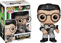 Ghostbusters Dr Egon Spengler Pop! Vinyl Figure - Dr Egon Spengler, scientist and undisputed brains of the outfit, is now a 30th Anniversary 3.75