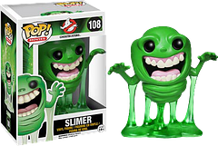 Slimer Pop! Vinyl Figure - Watch out because… he's looking right at you. He's the 3.75 inch, Ghostbusters Slimer Pop! Vinyl Figure from Funko.Complete your 30th Anniversary Ghostbusters Pop! Vinyl Figure collection by grabbing your own li'l Slimer, before he goes right through you and out the door with somebody else.