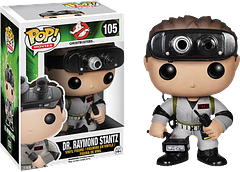Ghostbusters Dr Raymond Stantz Pop! Vinyl Figure - Commemorating 30 years of ghost busting fun, the much anticipated 30th Anniversary 3.75