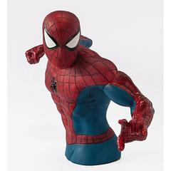Spider-Man Exclusive Bust Bank - Guaranteed to help your money stick around longer than any other bust bank, but with no web-residue left behind.